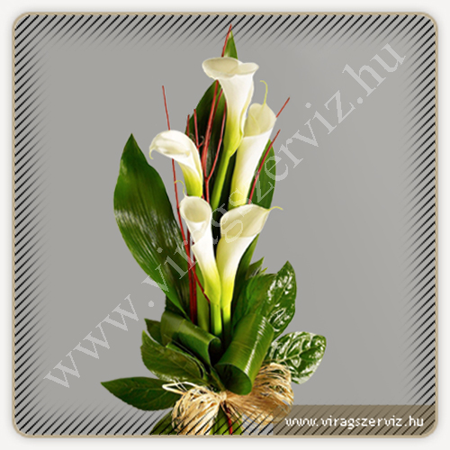 Funeral Bouqet - White Calla